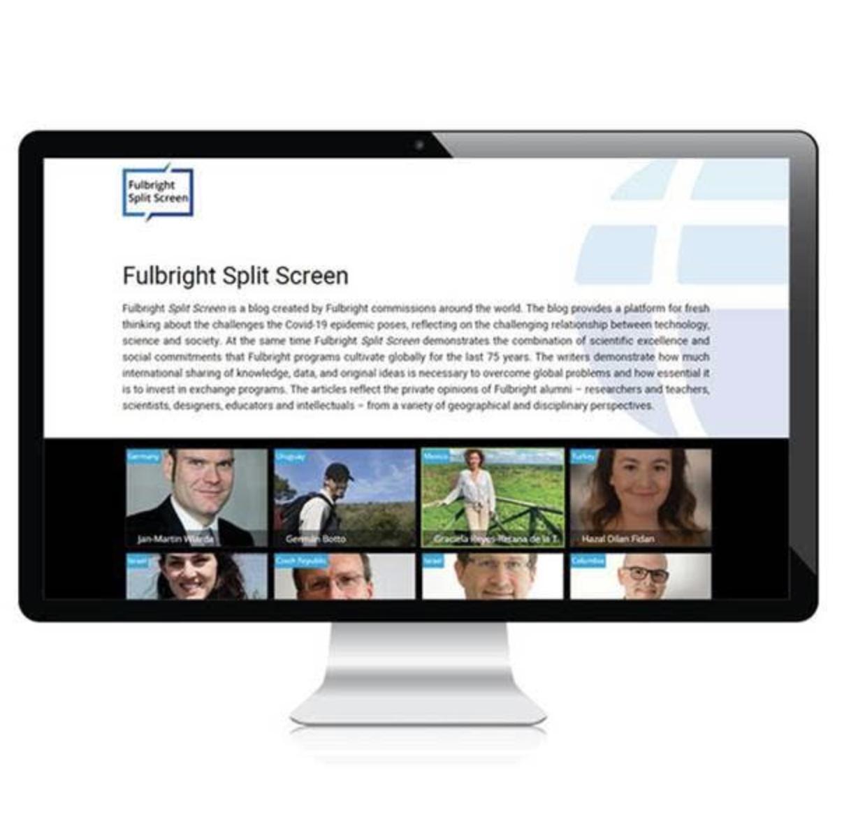 Fulbright Splitscreen photo